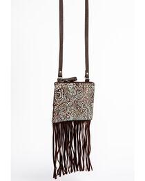 Shyanne® Women's Filigree and Fringe Crossbody Bag, , hi-res