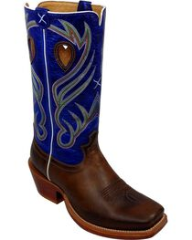 Twisted X Ruff Stock Cowboy Boots - Wide Square Toe, , hi-res
