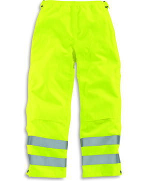 Carhartt Men's High Visibility Class E Waterproof Pants, Bright Green, hi-res