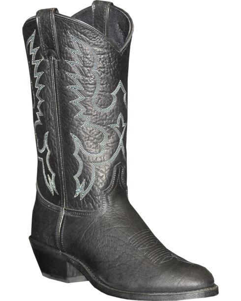 """Abilene Men's 12"""" Pull-On Western Boots, Black, hi-res"""