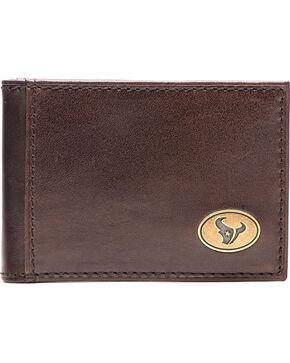 Jack Mason Men's Houston Legacy Flip Bifold Wallet , Brown, hi-res