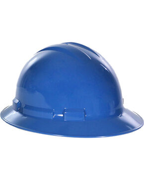 Radians Blue Quartz Full Brim Hard Hats , Blue, hi-res