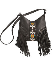 Kobler Leather Black Sedona Bag , , hi-res