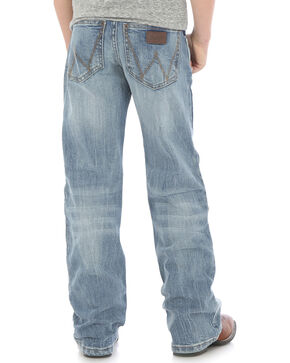 Wrangler Boys' (8-16) Indigo Retro Relaxed Fit Jeans - Boot Cut , Indigo, hi-res