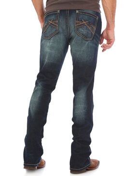 Wrangler Men's Indigo Vintage 20X No. 44 Stretch Jeans - Straight Leg , Indigo, hi-res