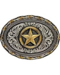 Montana Silversmiths Men's Lone Star Attitude Buckle, , hi-res