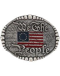 """Cody James® Men's """"We The People"""" Buckle , , hi-res"""