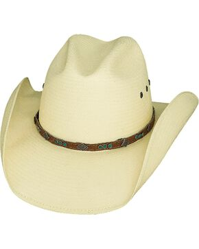 Bullhide Women's The Classic Straw Hat, Natural, hi-res