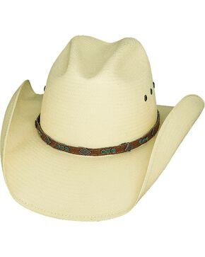 Bullhide Women's The Classic Straw Hat, Natural, hi-res