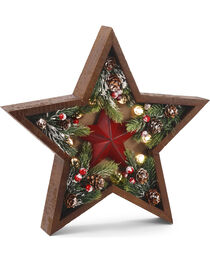 BB Ranch® LED Pinecone Star Décor , , hi-res