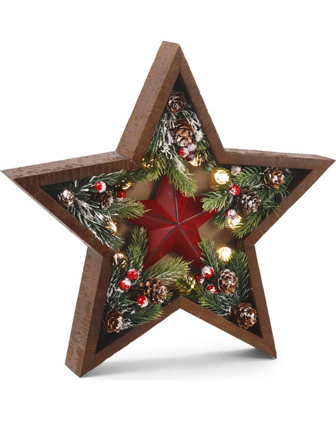 BB Ranch® LED Pinecone Star Décor , Multi, hi-res