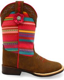 Blazin Roxx Girls' Camilla Serepa Boots - Square Toe , , hi-res