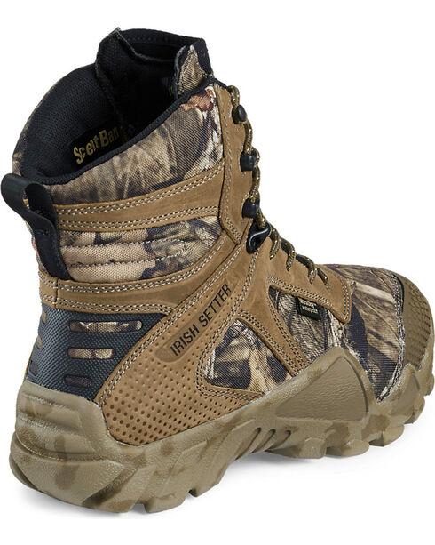 "Red Wing Irish Setter Mossy Oak Vaprtrek Insulated Waterproof 8"" Boots , Camouflage, hi-res"