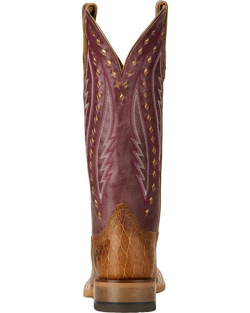 Ariat Women's Callahan Western Boots, Tan, hi-res