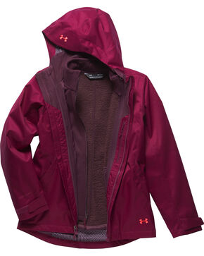 Under Armour Women's Coldgear Infrared Sienna 3-in-1 Jacket , Wine, hi-res