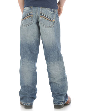 Wrangler Boys' Indigo (4-7) 20X No. 33 Relaxed Fit Jeans - Straight Leg , Indigo, hi-res