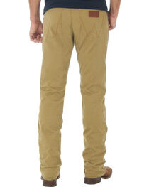 Wrangler Retro Slim Fit Straight Leg Khaki Jeans - Big and Tall, , hi-res