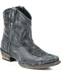 Roper Women's Distressed Snip Toe Short Western Boots, , hi-res