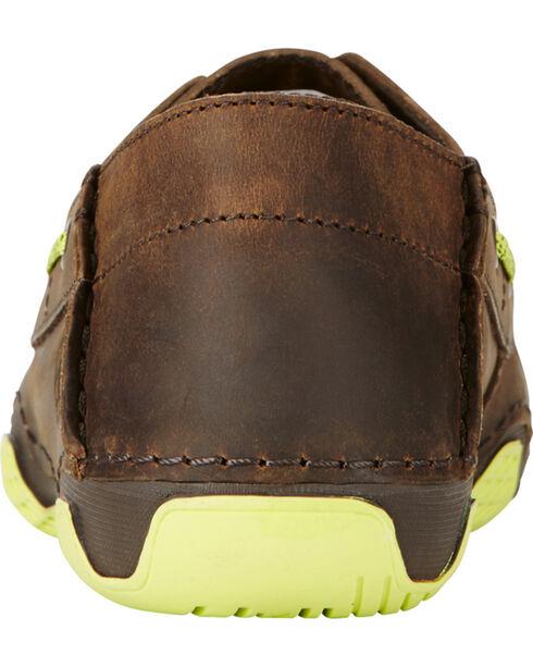 Ariat Women's Brown Caldwell Cross Boat Shoes, Brown, hi-res