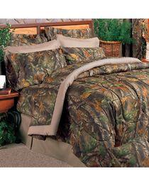 Realtree Hardwoods Camo King Comforter Set, , hi-res
