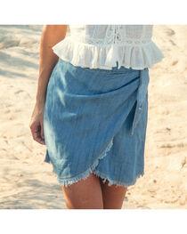 Sadie & Sage Women's Indigo Emery Skirt, , hi-res