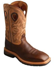 Twisted X Hazel Lite Weight Cowboy Work Boots - Steel Toe , , hi-res