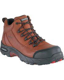 Reebok Women's Tiahawk Waterproof Sport Hiking Boots - Composition Toe, Brown, hi-res
