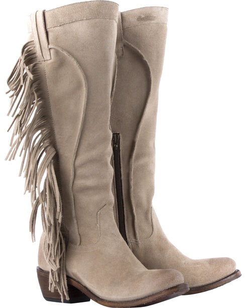 Junk Gypsy by Lane Women's Texas Tumbleweed Western Boots, Sand, hi-res