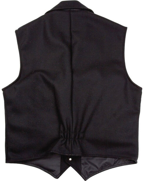 Schaefer Men's 805 Cattle Baron Vest - Big & Tall, Black, hi-res