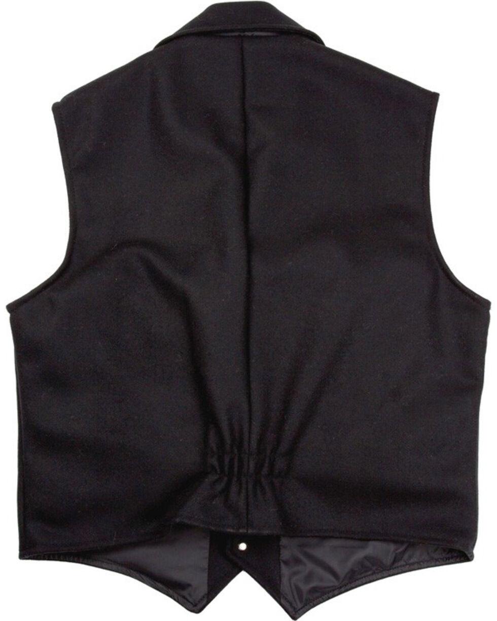 Schaefer Men's 805 Cattle Baron Vest - Big & Tall, Black, hi-res