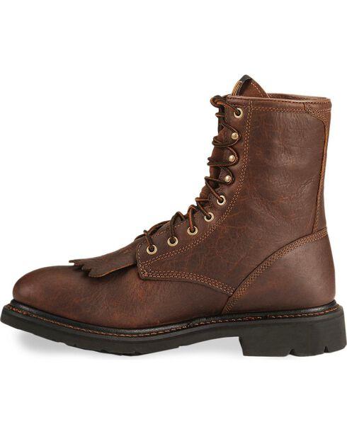 Ariat Men's Cascade Waterproof Work Boots, Sunshine, hi-res