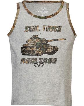 Real Tree®  Toddler Boys' Real Tough Tank Top, Grey, hi-res
