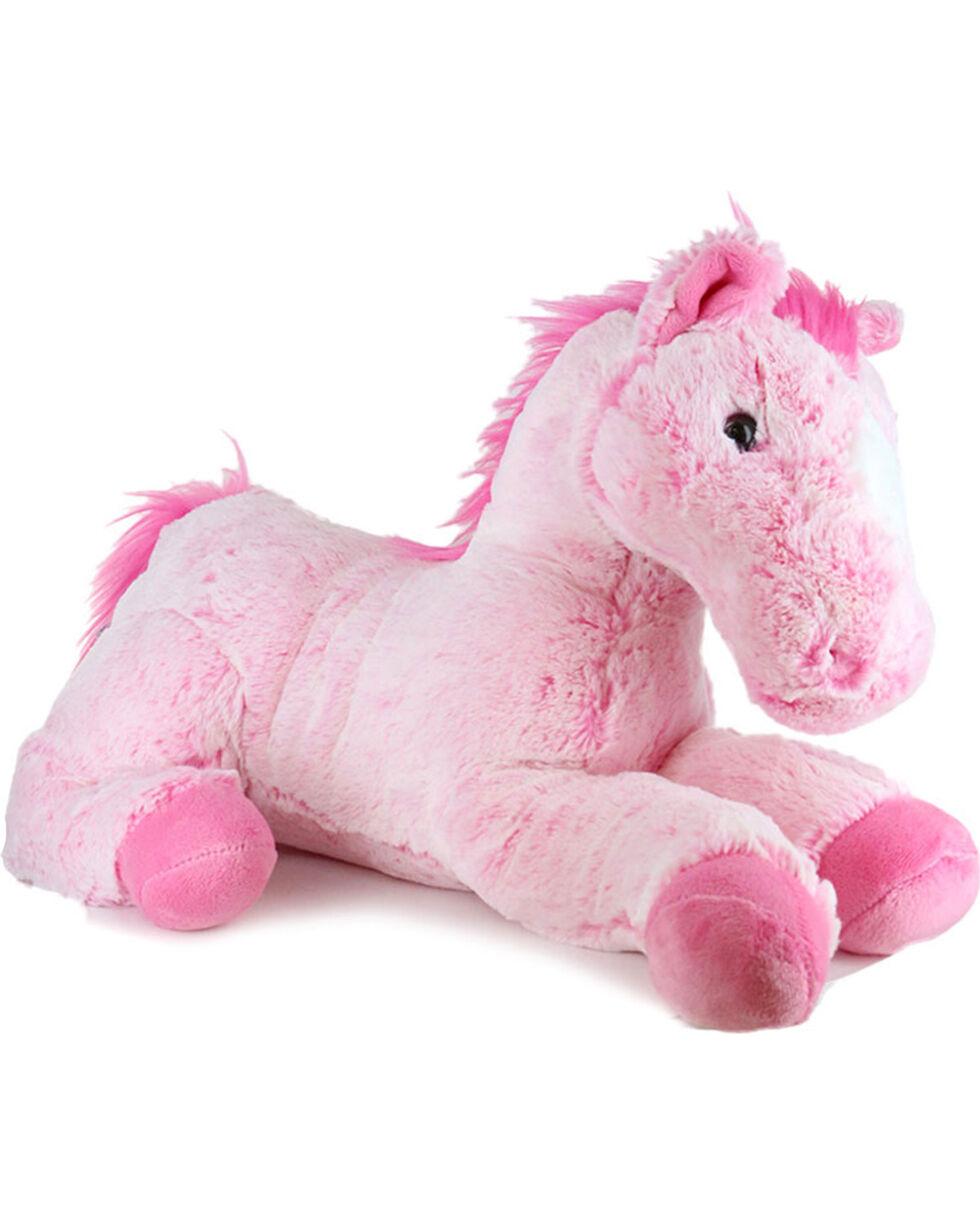 Aurora Kids' Flopsie Plush Horse  , Pink, hi-res