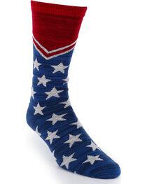 Smart Feet Americana Athletic Socks, , hi-res