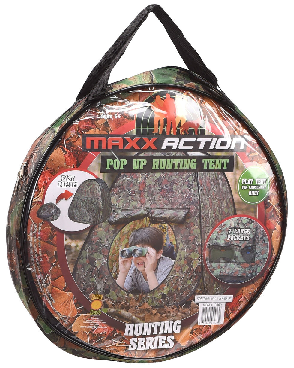 Maxx Action Camo Adventure Pop Up Tent , Camouflage, hi-res