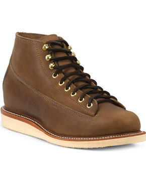 Chippewa Men's 1958  General Utility Boots, Mahogany, hi-res