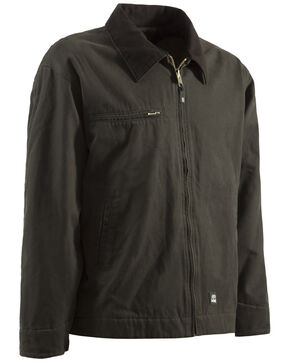 Berne Original Washed Gasoline Jacket - Tall 3XT and 4XT, Olive Green, hi-res