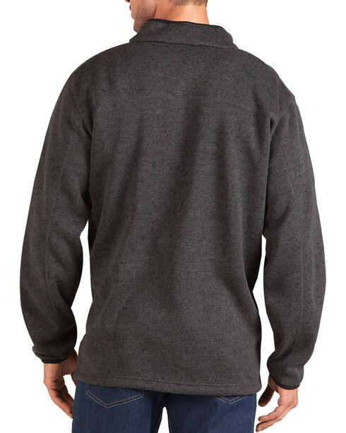 Dickies Work Tech Water-Repellent Fleece Pullover, Grey, hi-res