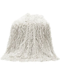 HiEnd Accents Mongolian Faux Fur Throw, , hi-res