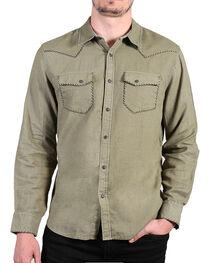 Cody James®  Men's Solid Long Sleeve Shirt , , hi-res