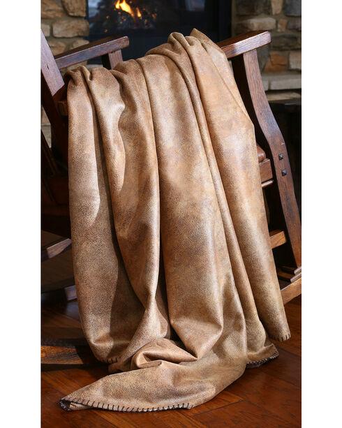 Carstens Tobacco Throw Blanket, Brown, hi-res