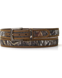 Nocona Double Stitched Mossy Oak Belt - Large, , hi-res