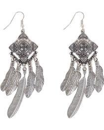 Shyanne® Women's Concho Dreamcatcher Earrings , , hi-res