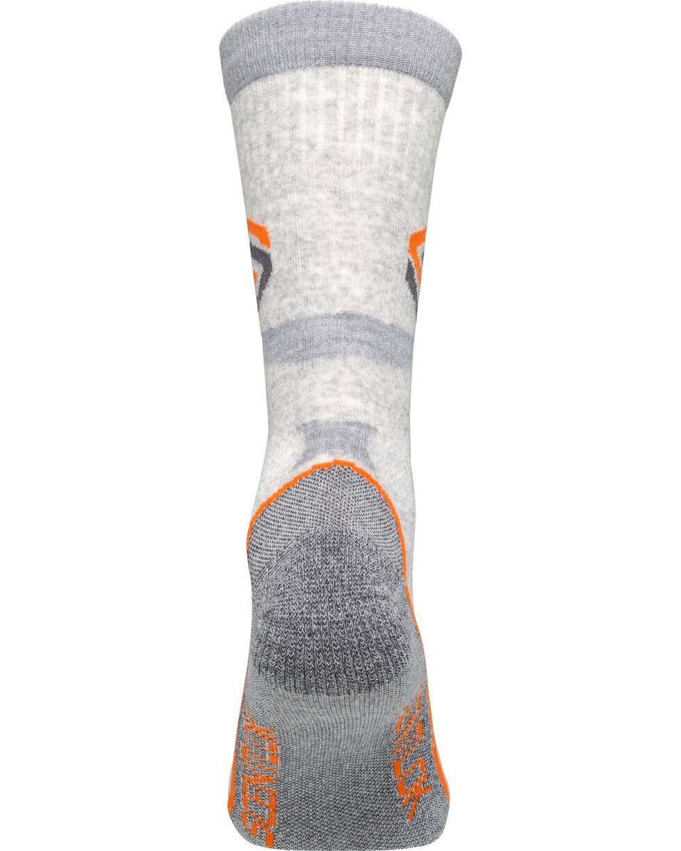 Scentlok Technologies Men's Ultralight Merino Sub-Crew Socks, Grey, hi-res