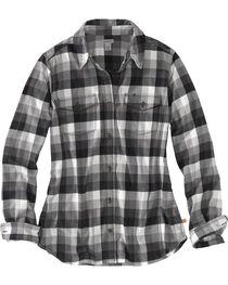 Carhartt Women's Plaid Long Sleeve Shirt, , hi-res