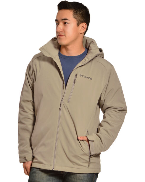 Columbia Men's Gate Racer Softshell Jacket, Khaki, hi-res