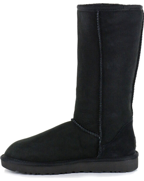 UGG Women's Black Classic II Tall Boots, Black, hi-res