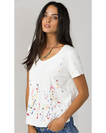 MM Vintage Women's White Let Loose Top, , hi-res