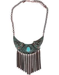 Shyanne® Women's Turquoise Dangle Necklace, , hi-res