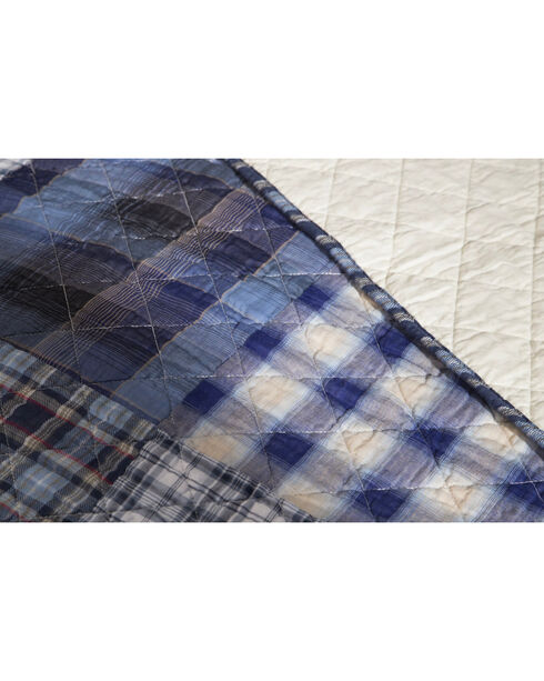 Carstens Ranch Hand Twin Quilt, Blue, hi-res